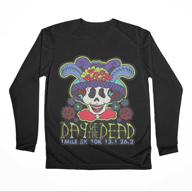 Day of the Dead Men's Performance Longsleeve T-Shirt by Moon Joggers's Artist Shop