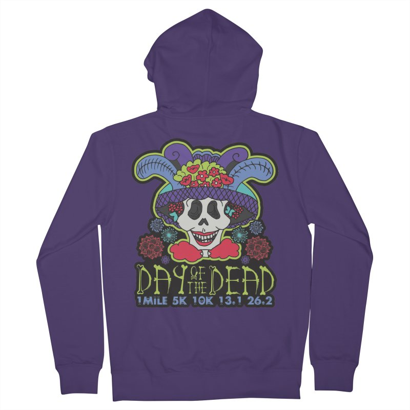 Day of the Dead Women's French Terry Zip-Up Hoody by Moon Joggers's Artist Shop