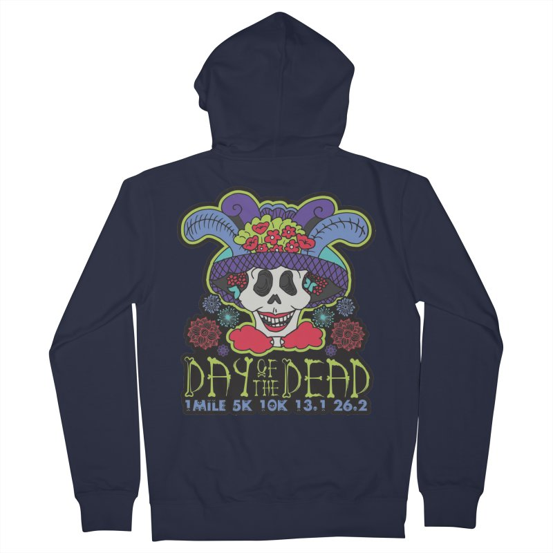 Day of the Dead Men's French Terry Zip-Up Hoody by Moon Joggers's Artist Shop