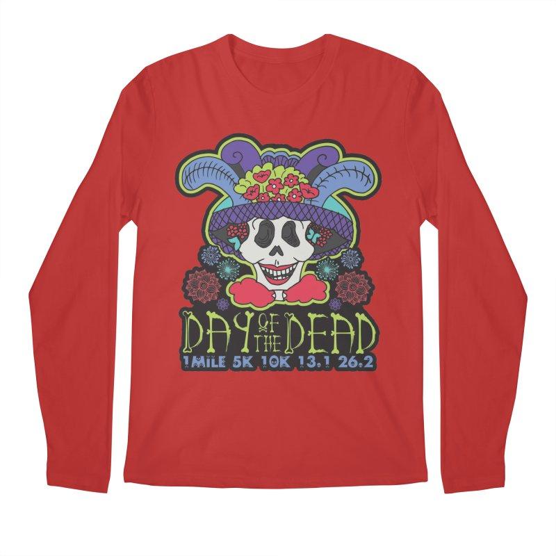Day of the Dead Men's Regular Longsleeve T-Shirt by Moon Joggers's Artist Shop