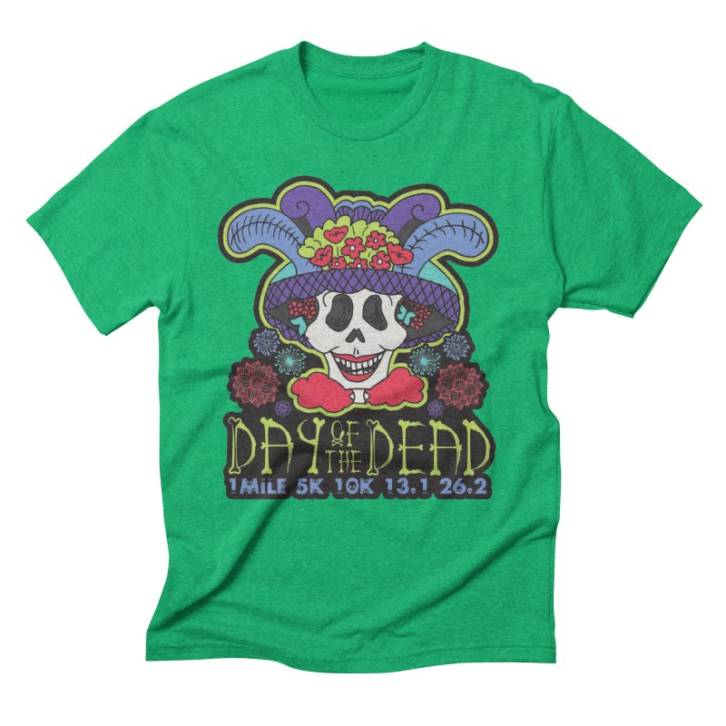 Day of the Dead Men's Triblend T-Shirt by Moon Joggers's Artist Shop