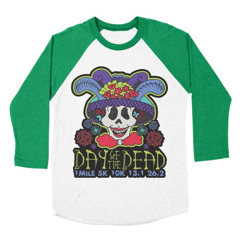 Day of the Dead Men's Baseball Triblend Longsleeve T-Shirt by Moon Joggers's Artist Shop