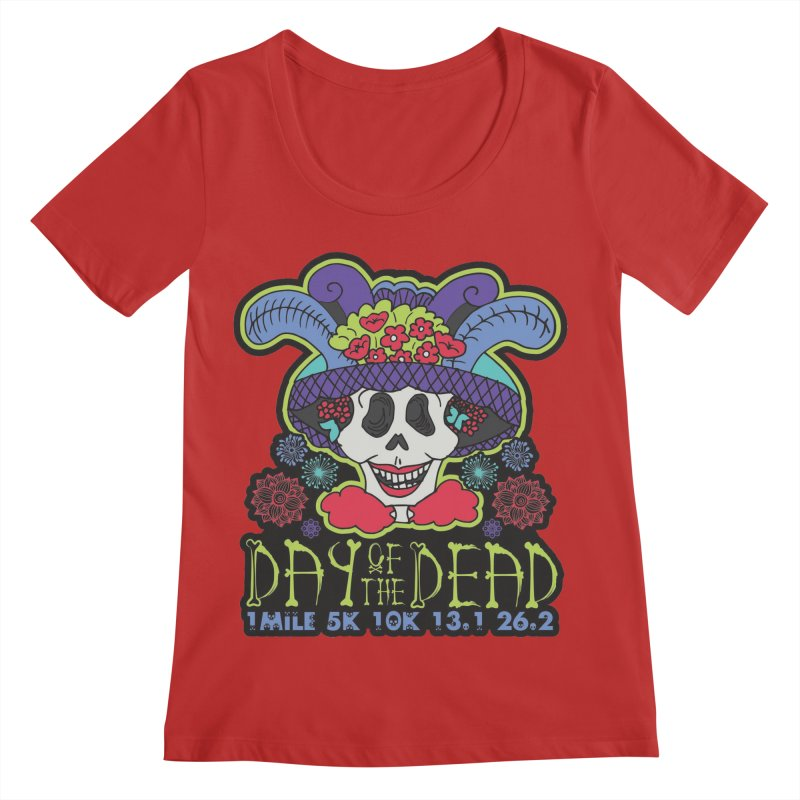 Day of the Dead Women's Regular Scoop Neck by Moon Joggers's Artist Shop