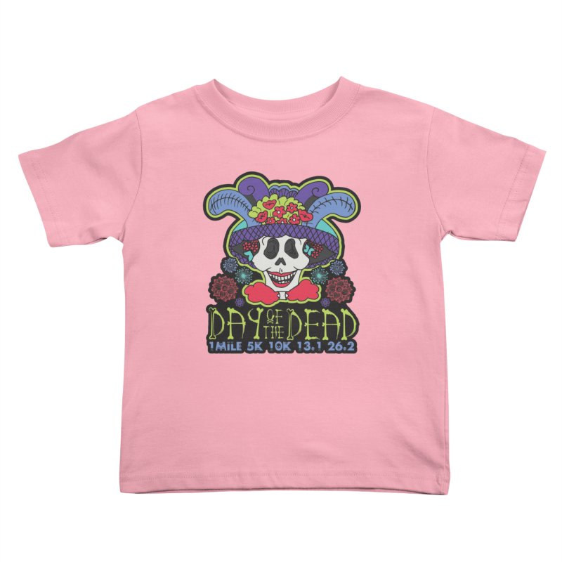 Day of the Dead Kids Toddler T-Shirt by Moon Joggers's Artist Shop