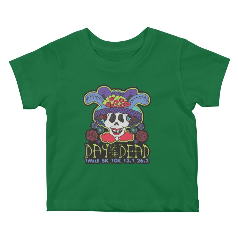 Day of the Dead Kids Baby T-Shirt by Moon Joggers's Artist Shop