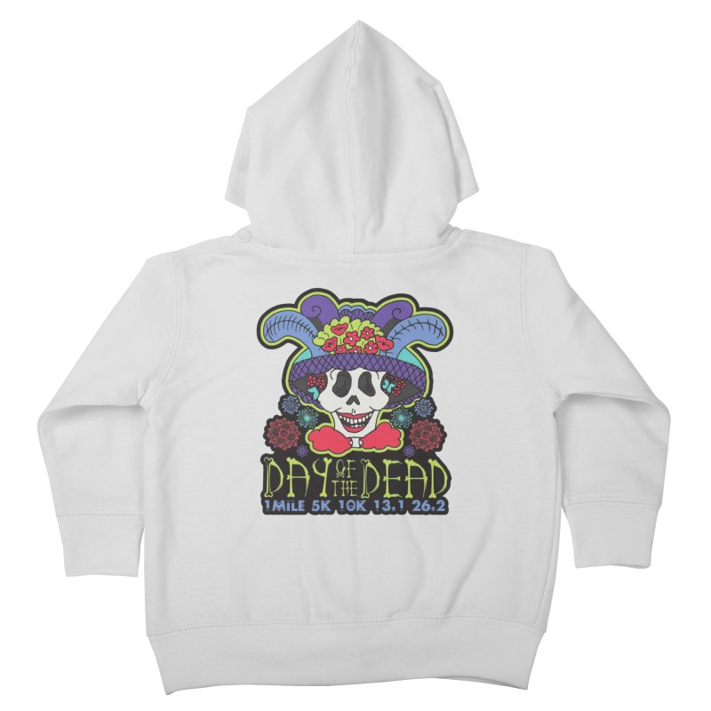 Day of the Dead Kids Toddler Zip-Up Hoody by Moon Joggers's Artist Shop
