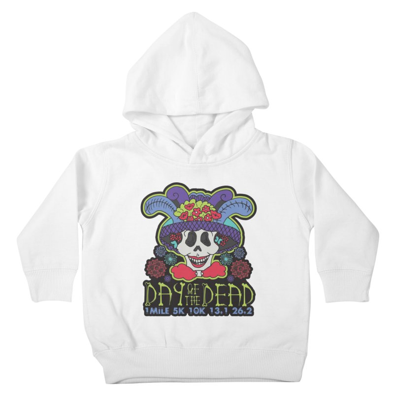 Day of the Dead Kids Toddler Pullover Hoody by Moon Joggers's Artist Shop