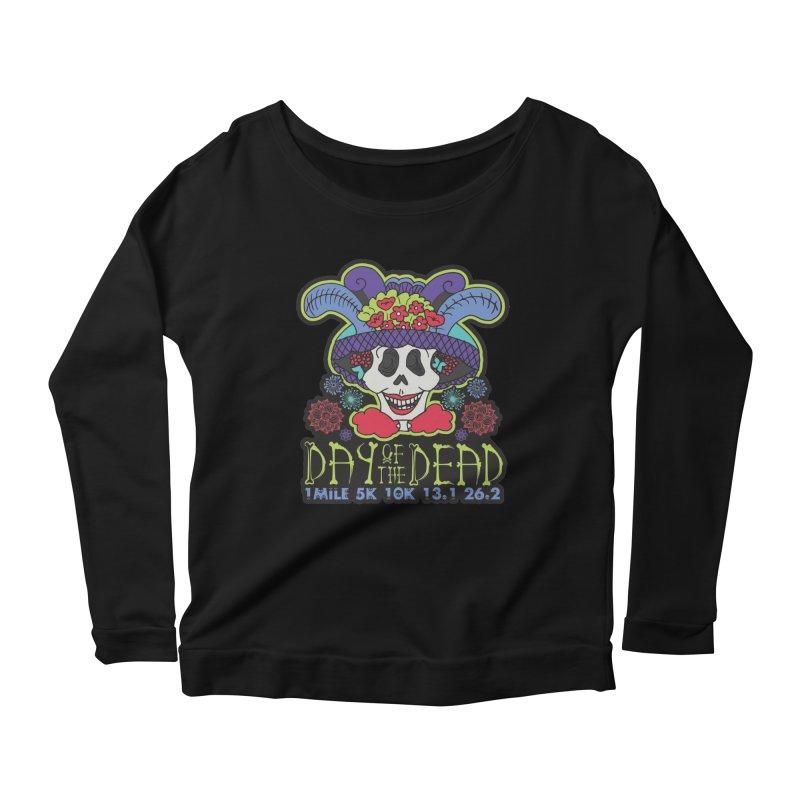 Day of the Dead Women's Scoop Neck Longsleeve T-Shirt by Moon Joggers's Artist Shop