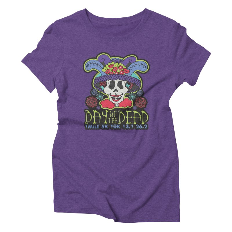 Day of the Dead Women's Triblend T-Shirt by Moon Joggers's Artist Shop