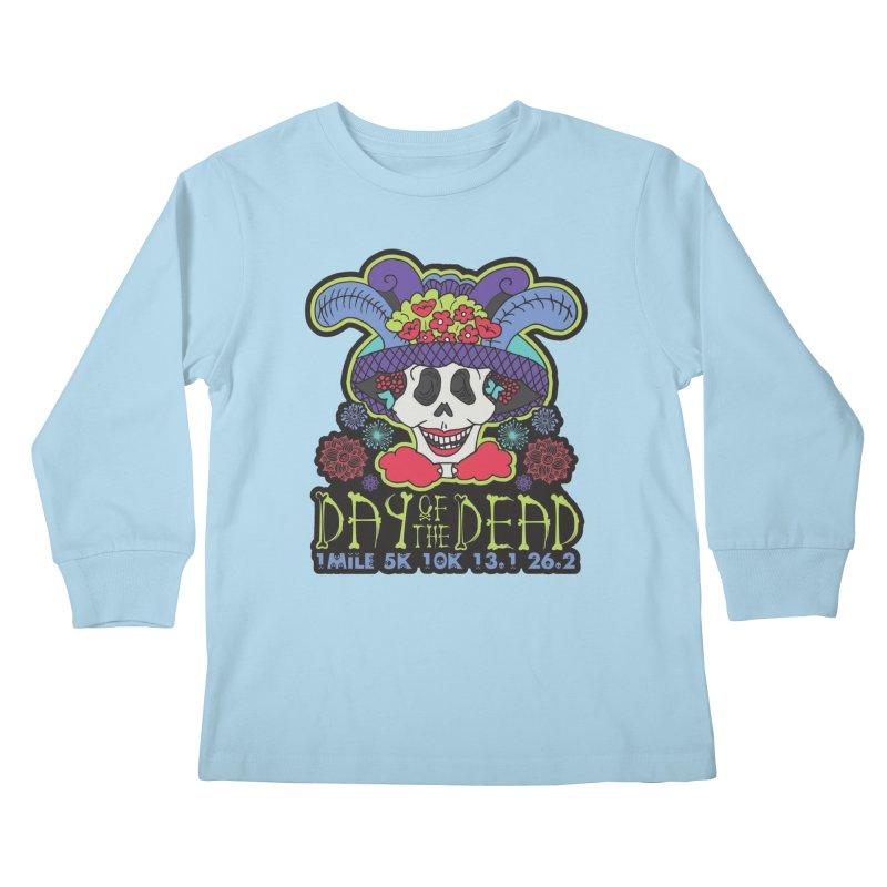 Day of the Dead Kids Longsleeve T-Shirt by Moon Joggers's Artist Shop