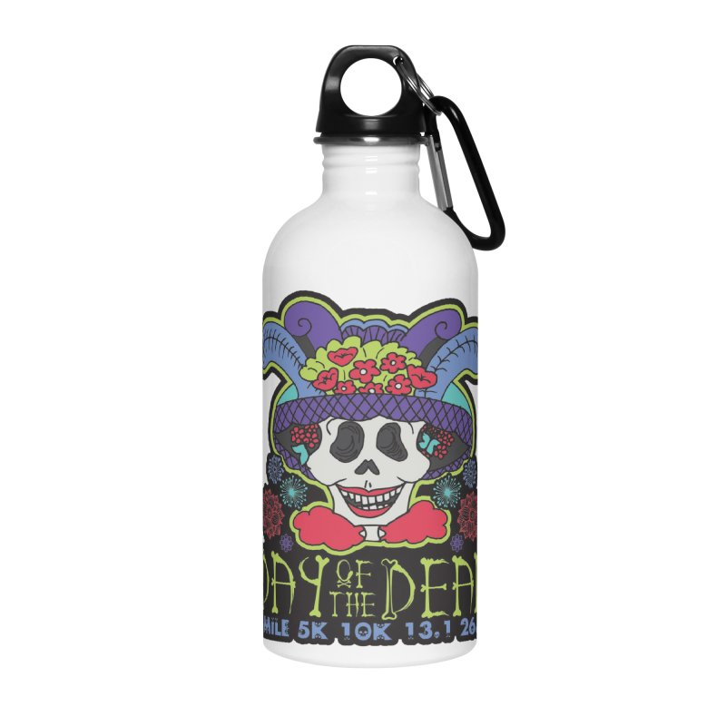 Day of the Dead Accessories Water Bottle by Moon Joggers's Artist Shop