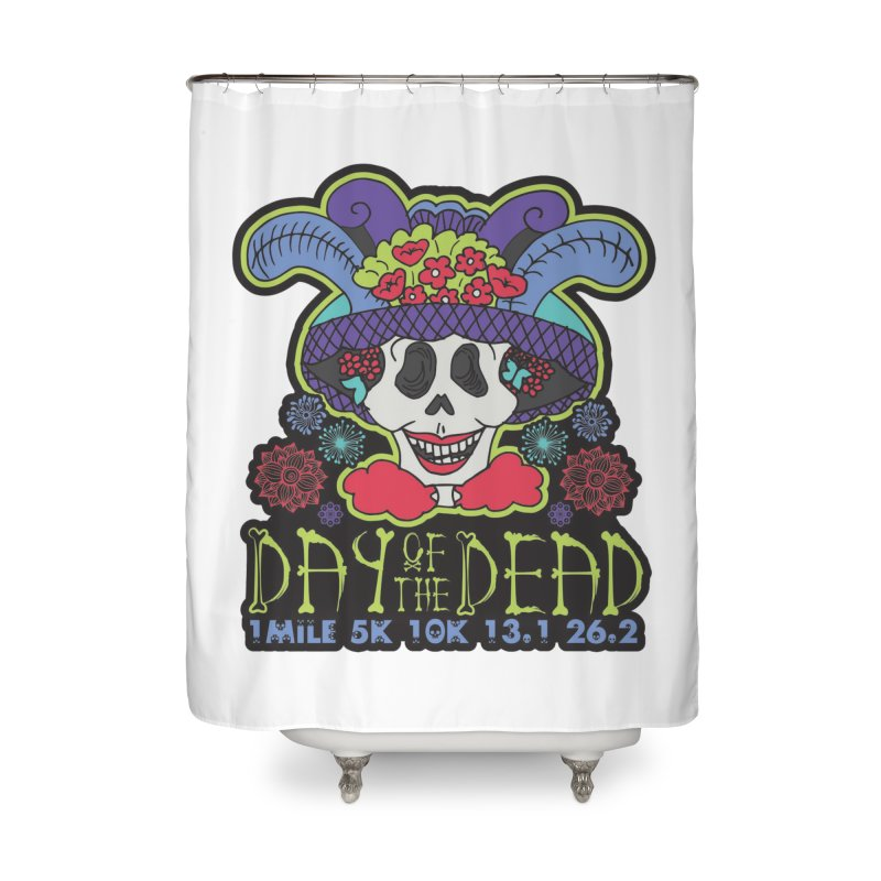Day of the Dead Home Shower Curtain by Moon Joggers's Artist Shop
