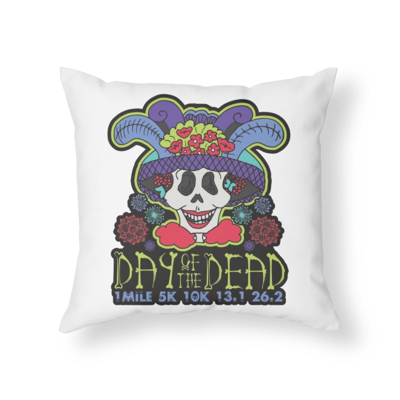 Day of the Dead Home Throw Pillow by Moon Joggers's Artist Shop