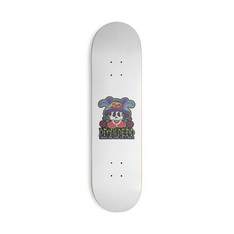 Day of the Dead Accessories Deck Only Skateboard by Moon Joggers's Artist Shop