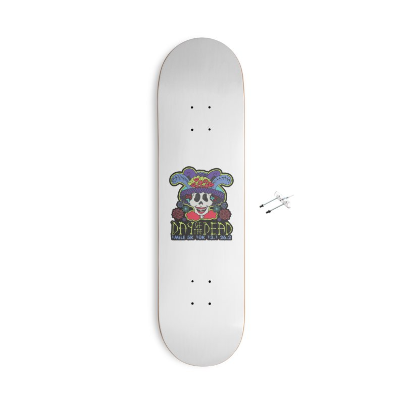 Day of the Dead Accessories With Hanging Hardware Skateboard by Moon Joggers's Artist Shop