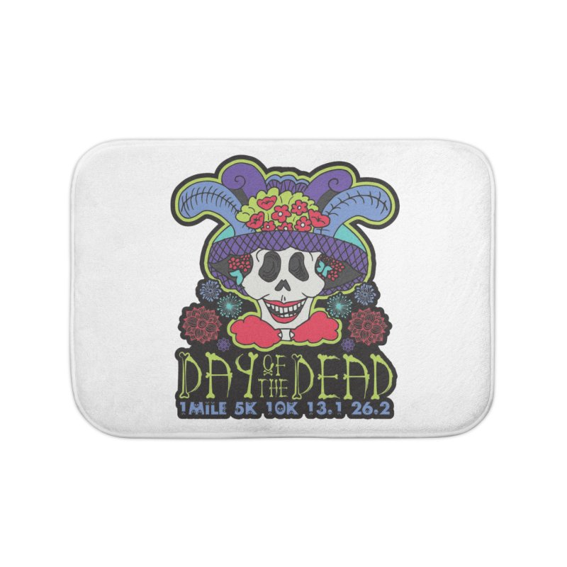 Day of the Dead Home Bath Mat by Moon Joggers's Artist Shop