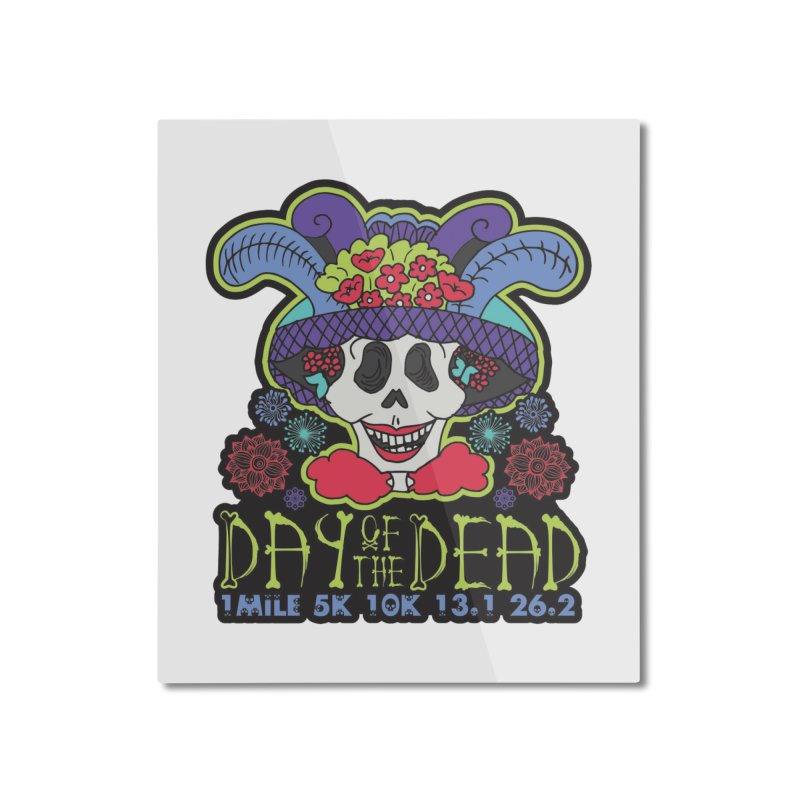 Day of the Dead Home Mounted Aluminum Print by Moon Joggers's Artist Shop