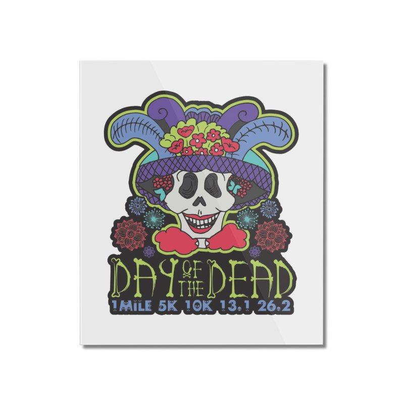 Day of the Dead Home Mounted Acrylic Print by Moon Joggers's Artist Shop