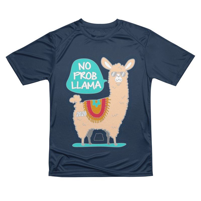 No Prob Llama Men's Performance T-Shirt by Moon Joggers's Artist Shop