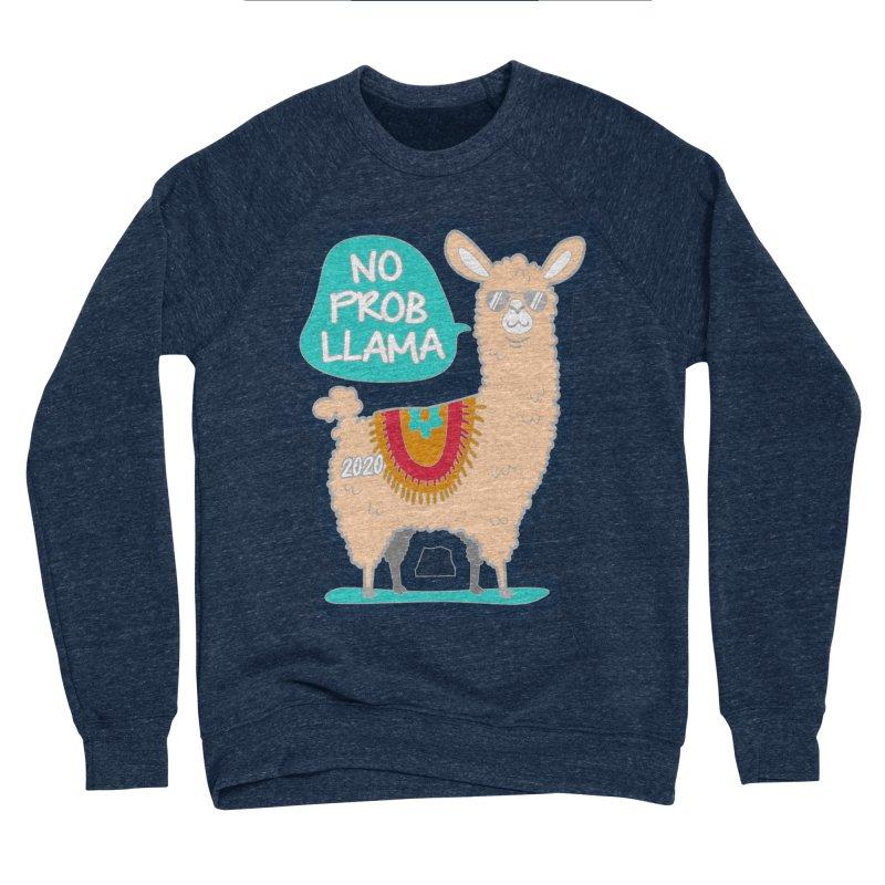 No Prob Llama Men's Sponge Fleece Sweatshirt by Moon Joggers's Artist Shop