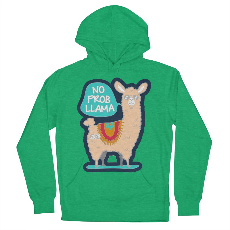 No Prob Llama Women's French Terry Pullover Hoody by Moon Joggers's Artist Shop