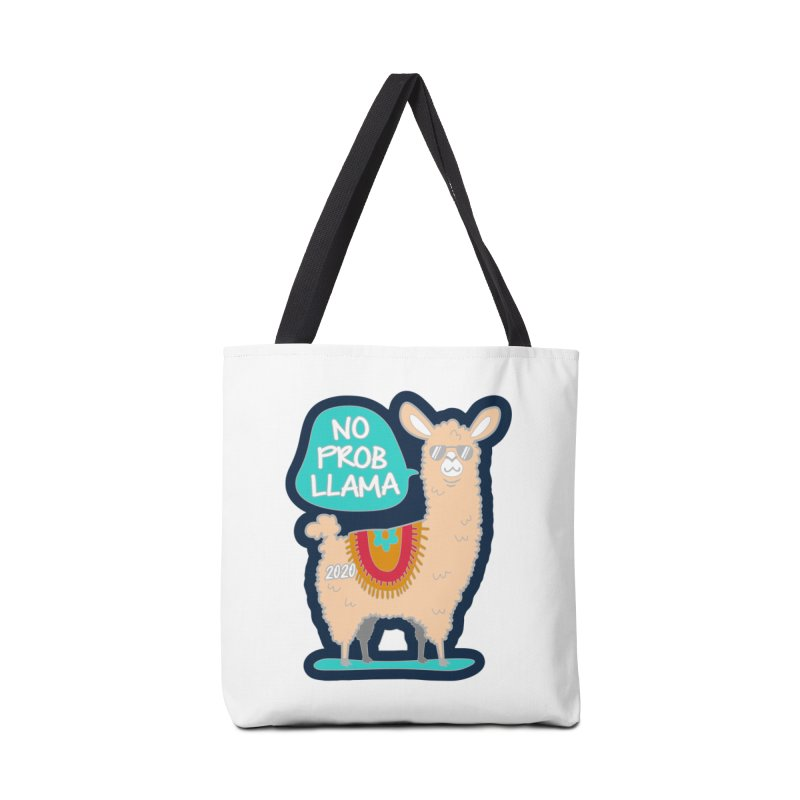 No Prob Llama Accessories Tote Bag Bag by Moon Joggers's Artist Shop