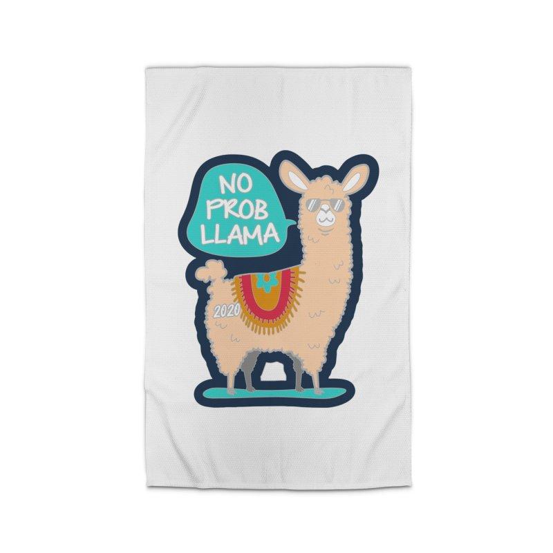 No Prob Llama Home Rug by Moon Joggers's Artist Shop
