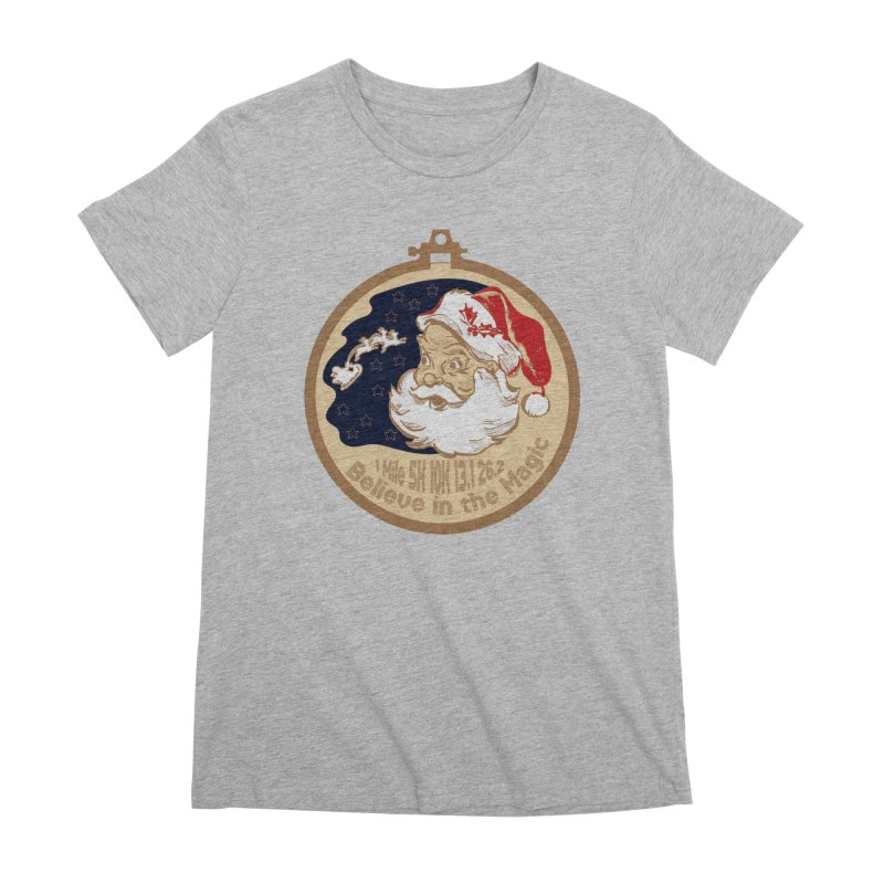 Santa's Big Day Women's Premium T-Shirt by Moon Joggers's Artist Shop