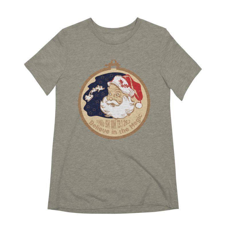 Santa's Big Day Women's Extra Soft T-Shirt by Moon Joggers's Artist Shop