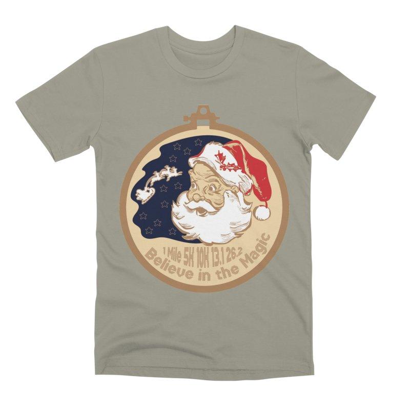 Santa's Big Day Men's Premium T-Shirt by Moon Joggers's Artist Shop