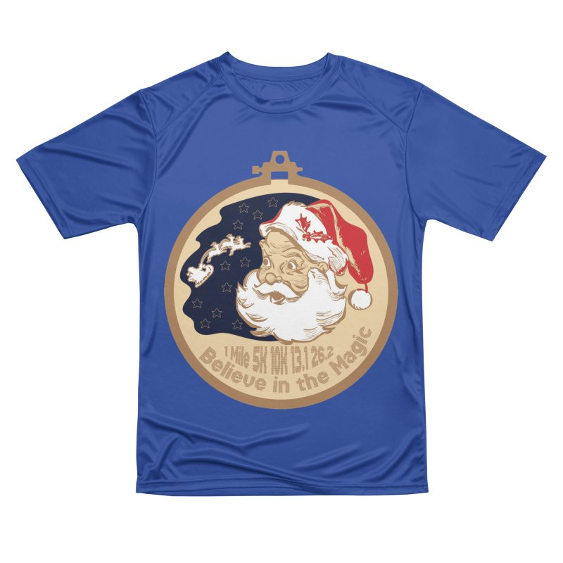 Santa's Big Day Men's Performance T-Shirt by Moon Joggers's Artist Shop