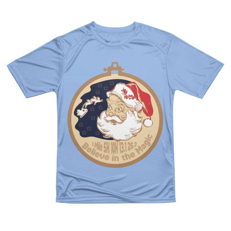 Santa's Big Day Women's Performance Unisex T-Shirt by Moon Joggers's Artist Shop