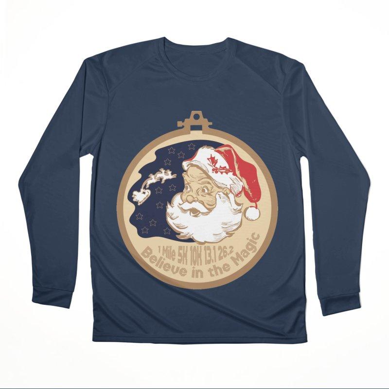Santa's Big Day Women's Performance Unisex Longsleeve T-Shirt by Moon Joggers's Artist Shop