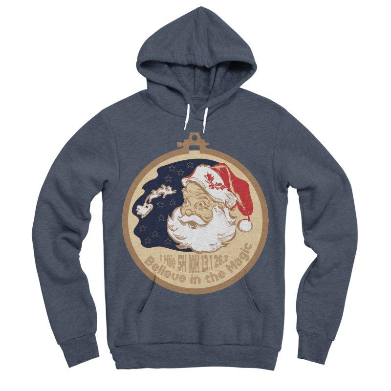 Santa's Big Day Women's Sponge Fleece Pullover Hoody by Moon Joggers's Artist Shop