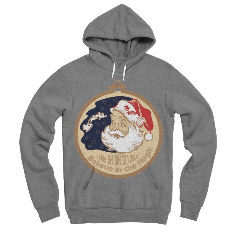 Santa's Big Day Men's Sponge Fleece Pullover Hoody by Moon Joggers's Artist Shop