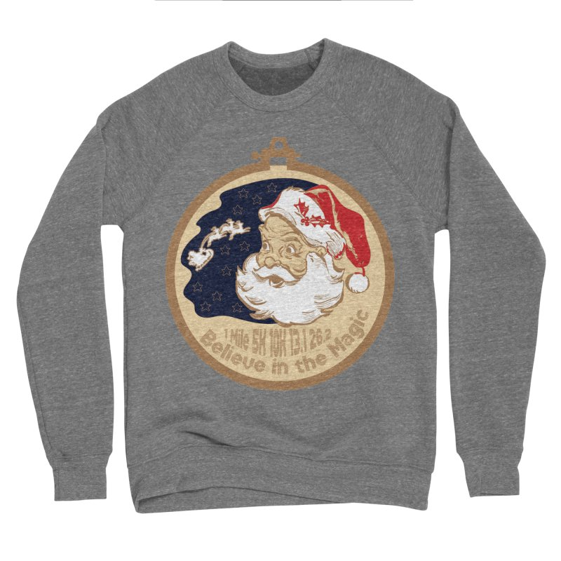 Santa's Big Day Women's Sponge Fleece Sweatshirt by Moon Joggers's Artist Shop