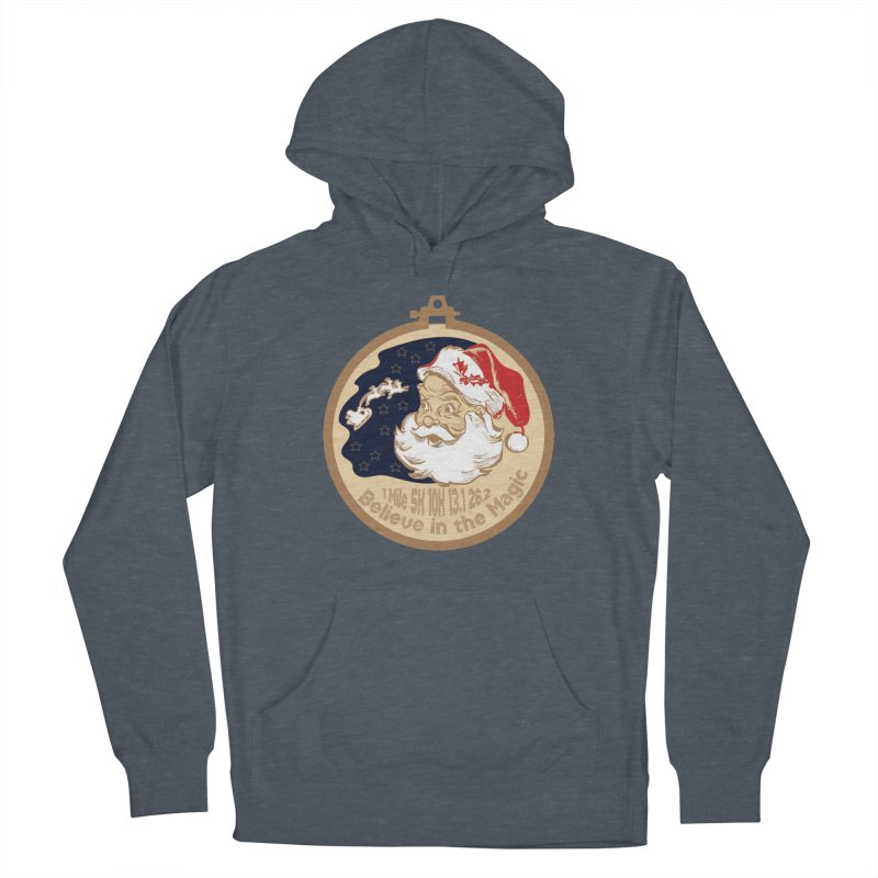 Santa's Big Day Women's French Terry Pullover Hoody by Moon Joggers's Artist Shop