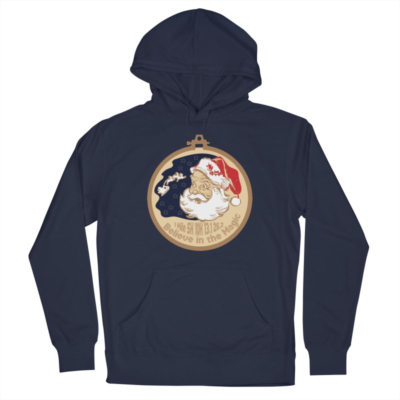 Santa's Big Day Men's French Terry Pullover Hoody by Moon Joggers's Artist Shop