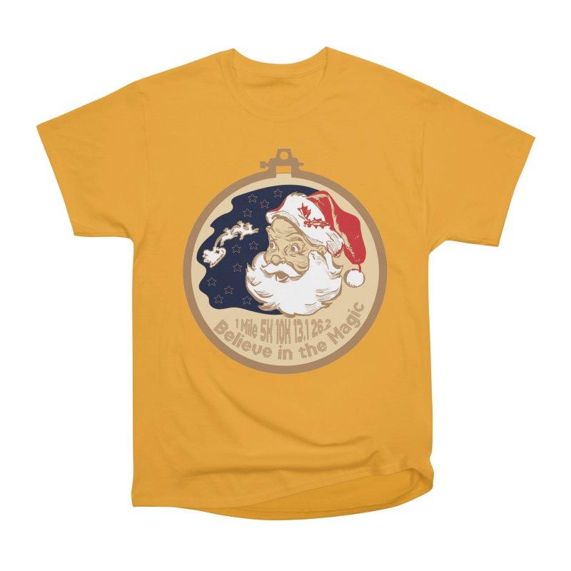 Santa's Big Day Men's Heavyweight T-Shirt by Moon Joggers's Artist Shop