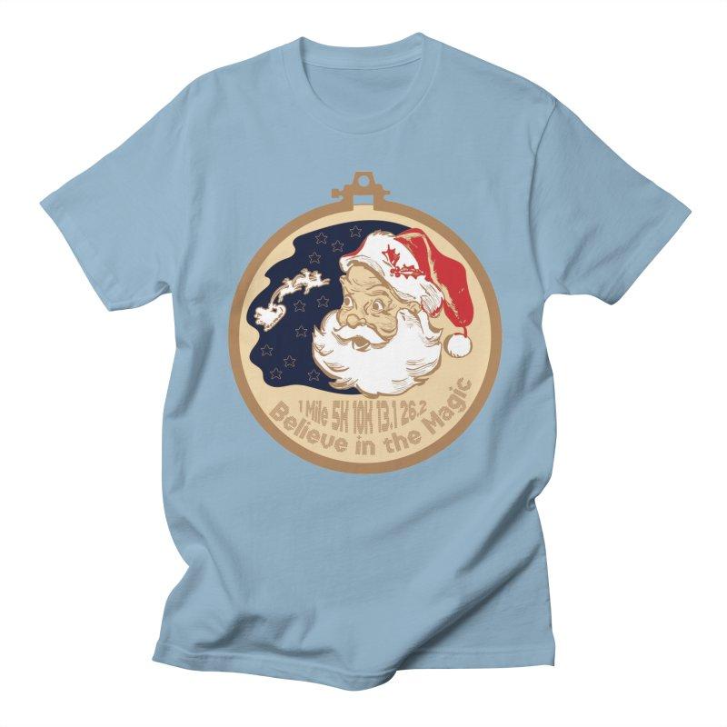 Santa's Big Day Women's Regular Unisex T-Shirt by Moon Joggers's Artist Shop
