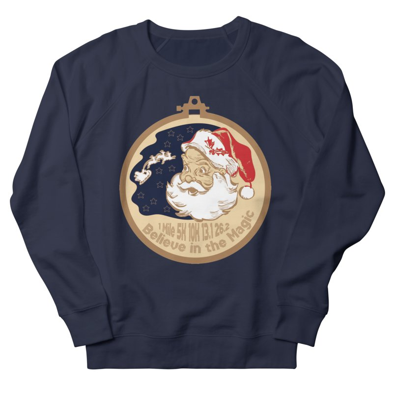 Santa's Big Day Women's French Terry Sweatshirt by Moon Joggers's Artist Shop