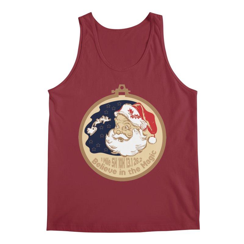 Santa's Big Day Men's Regular Tank by Moon Joggers's Artist Shop