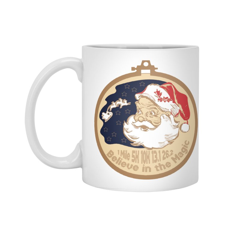 Santa's Big Day Accessories Standard Mug by Moon Joggers's Artist Shop