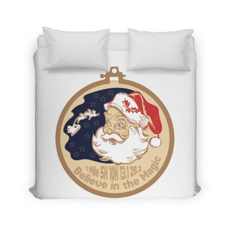 Santa's Big Day Home Duvet by Moon Joggers's Artist Shop