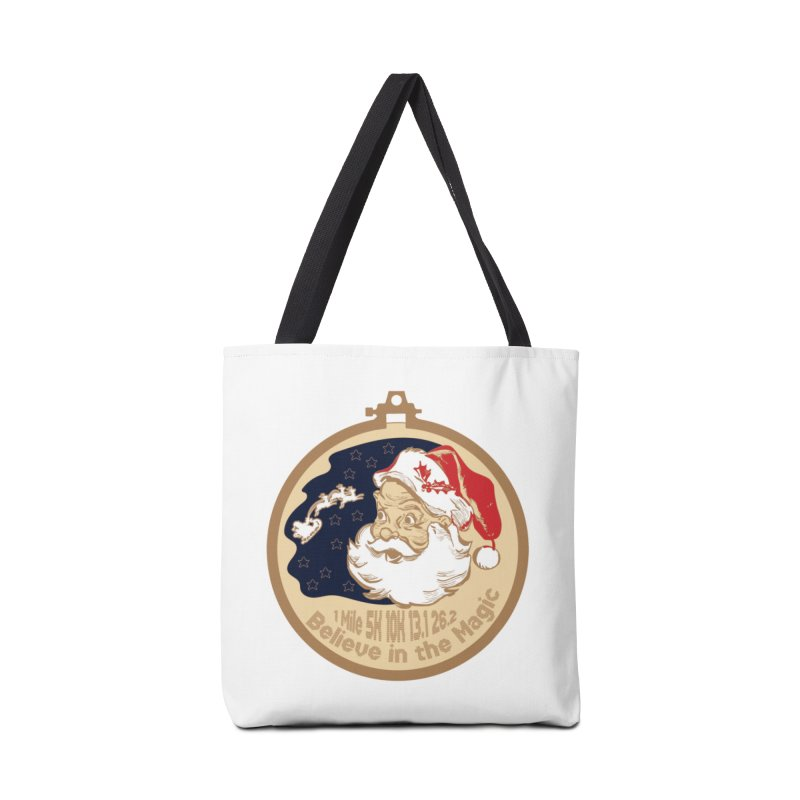 Santa's Big Day Accessories Tote Bag Bag by Moon Joggers's Artist Shop