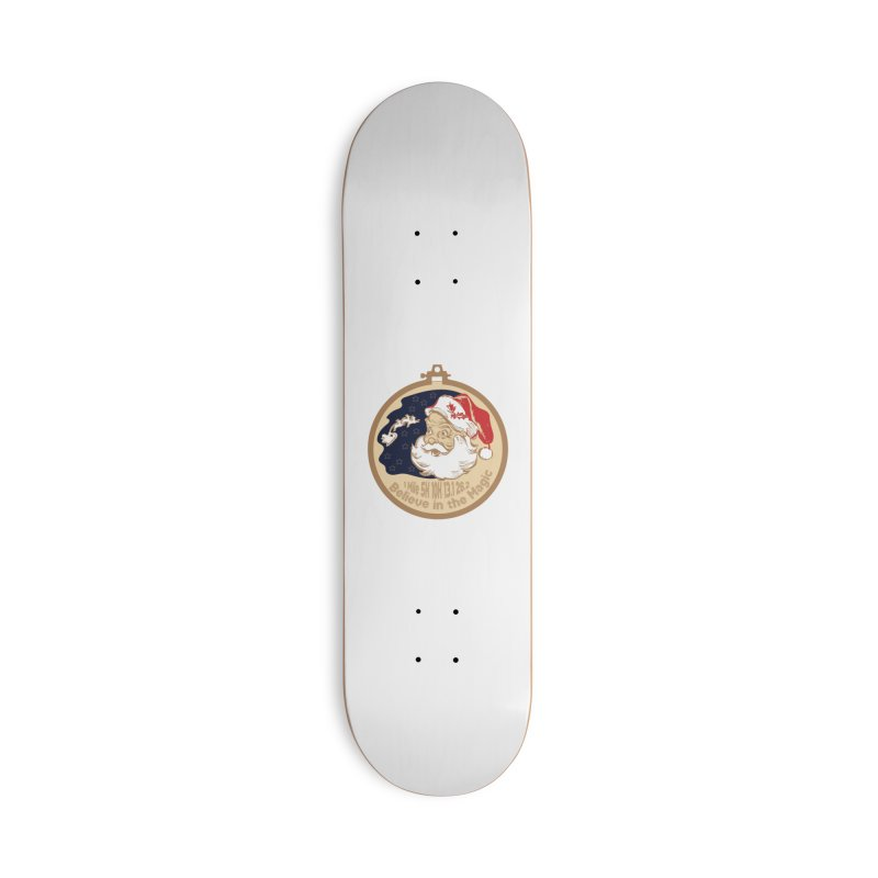 Santa's Big Day Accessories Deck Only Skateboard by Moon Joggers's Artist Shop