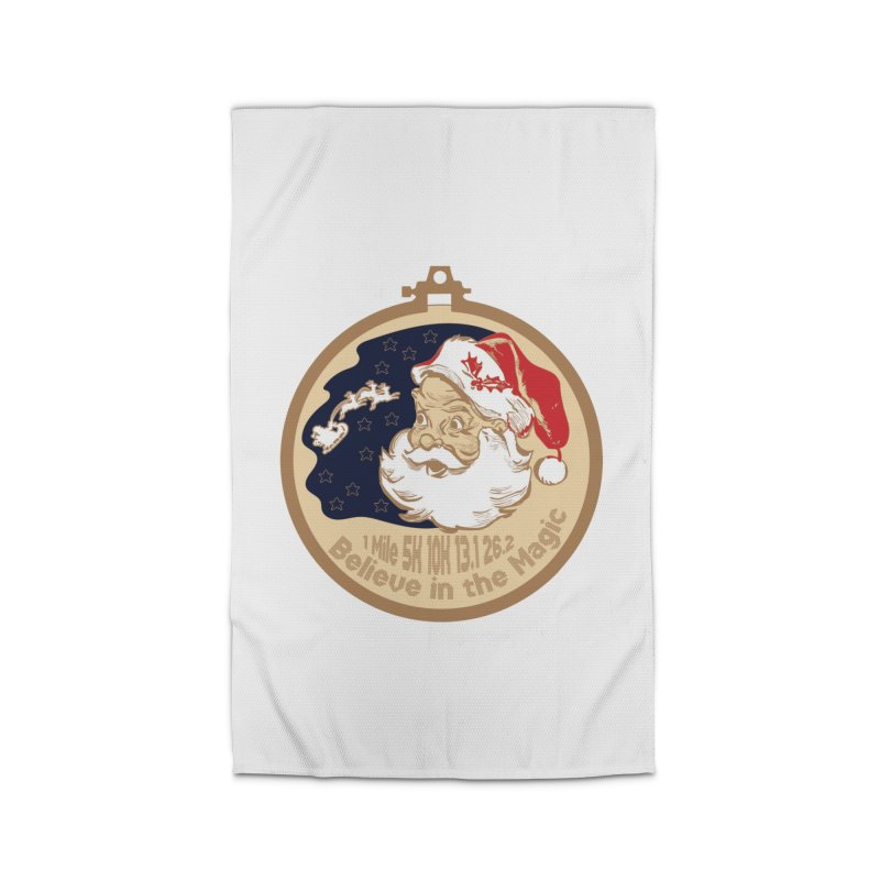 Santa's Big Day Home Rug by Moon Joggers's Artist Shop