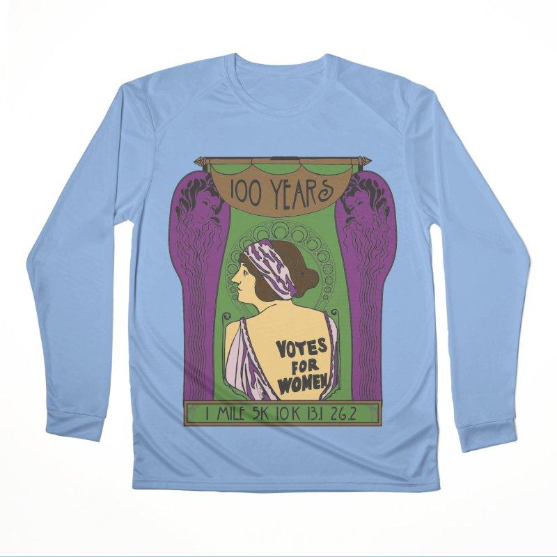 100 Years of Women's Suffrage Women's Performance Unisex Longsleeve T-Shirt by Moon Joggers's Artist Shop