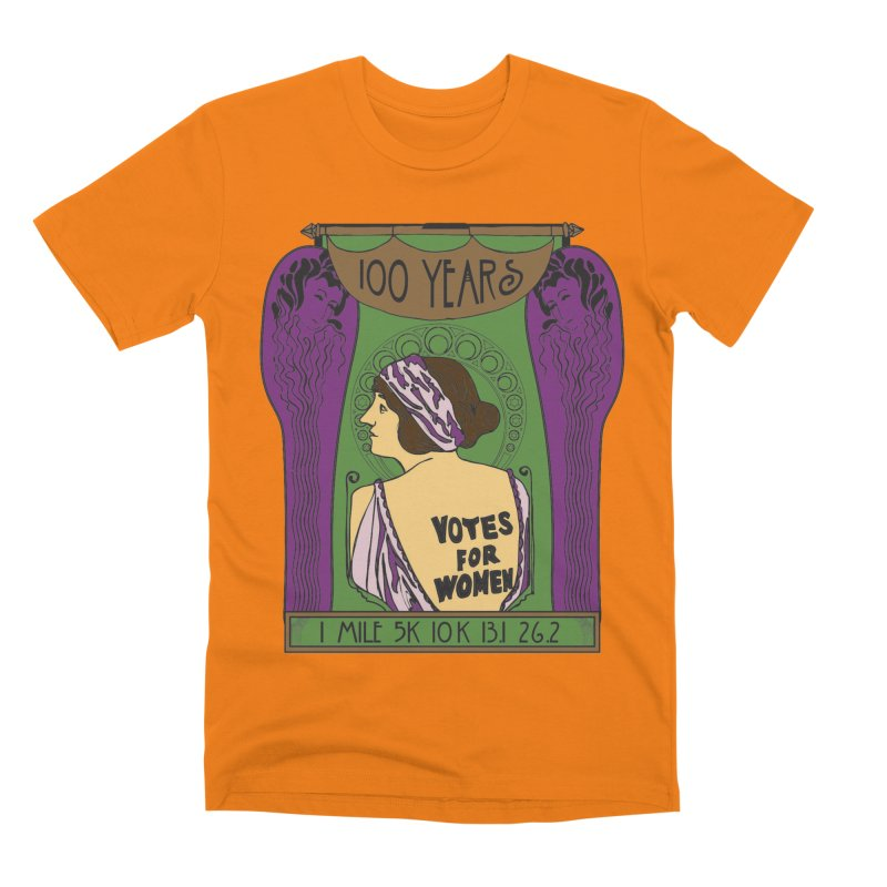 100 Years of Women's Suffrage Men's Premium T-Shirt by Moon Joggers's Artist Shop