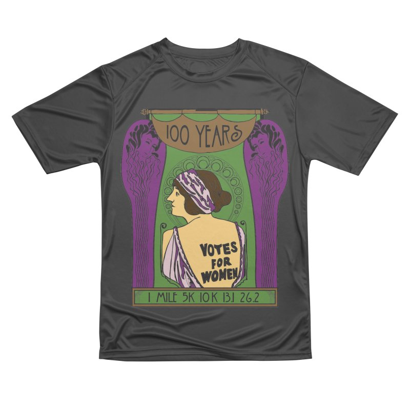 100 Years of Women's Suffrage Men's Performance T-Shirt by Moon Joggers's Artist Shop